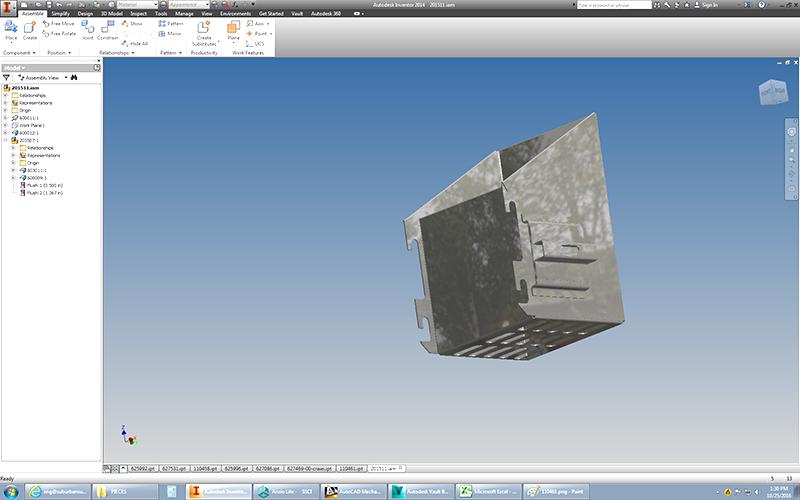 design stainless steel part